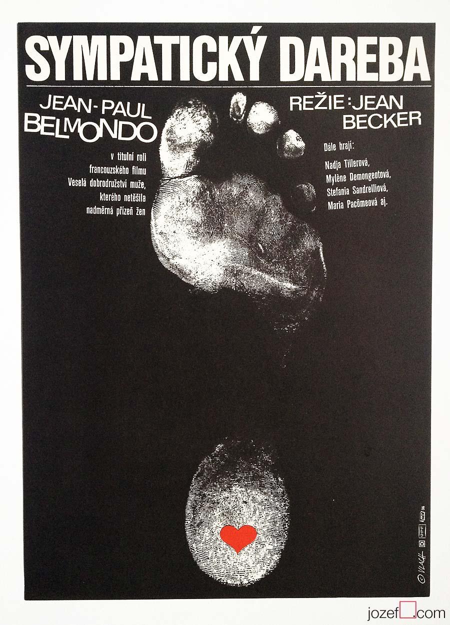 Film poster, Tender Scoundrel, Poster Art