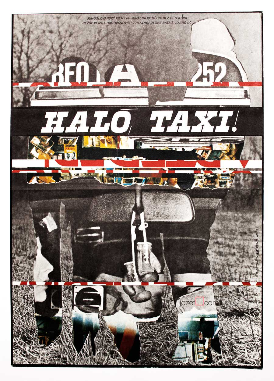 Collage of Movie Posters Collage Poster Milan Grygar