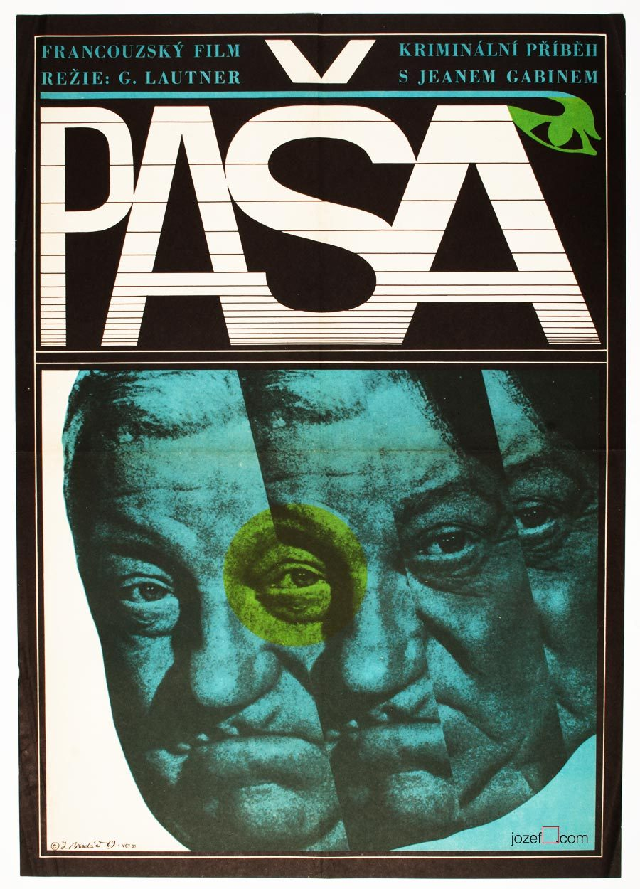 Pasha, original film poster, poster art