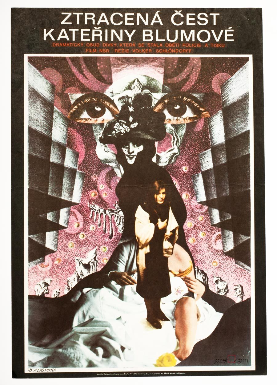 The Lost Honour of Katharina Blum movie poster