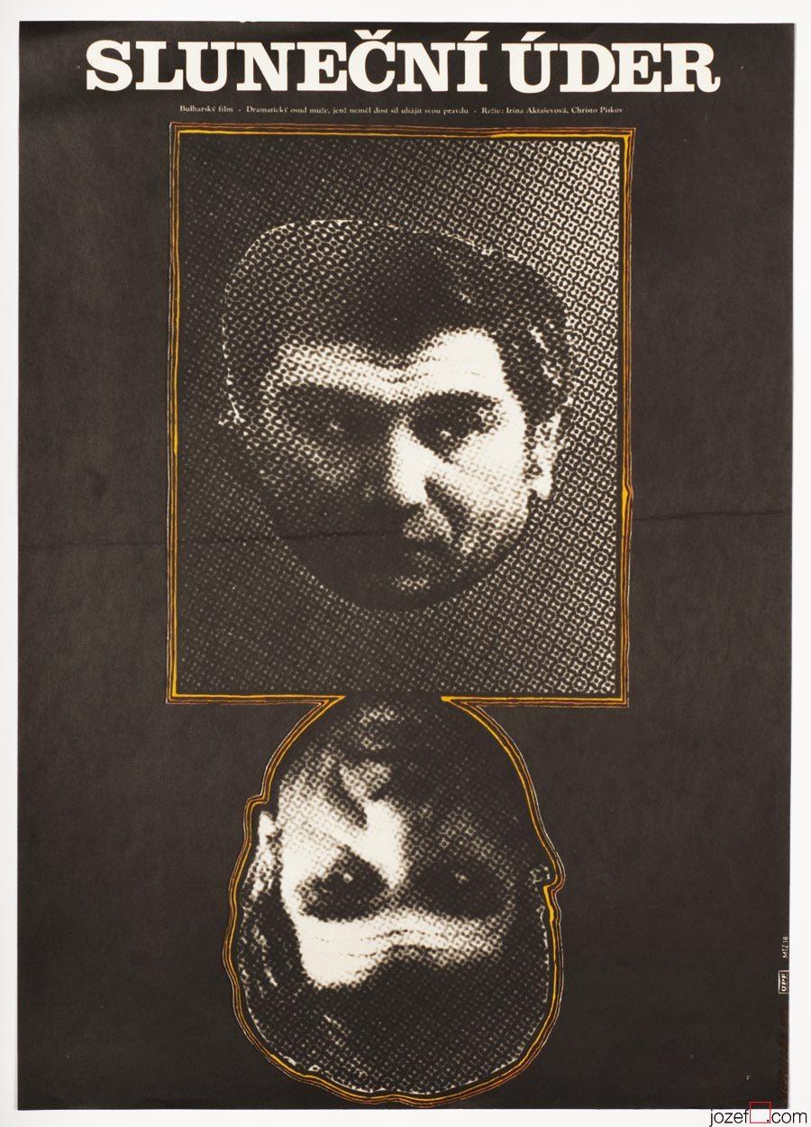 Movie Poster, Sunstroke, Minimalist Design