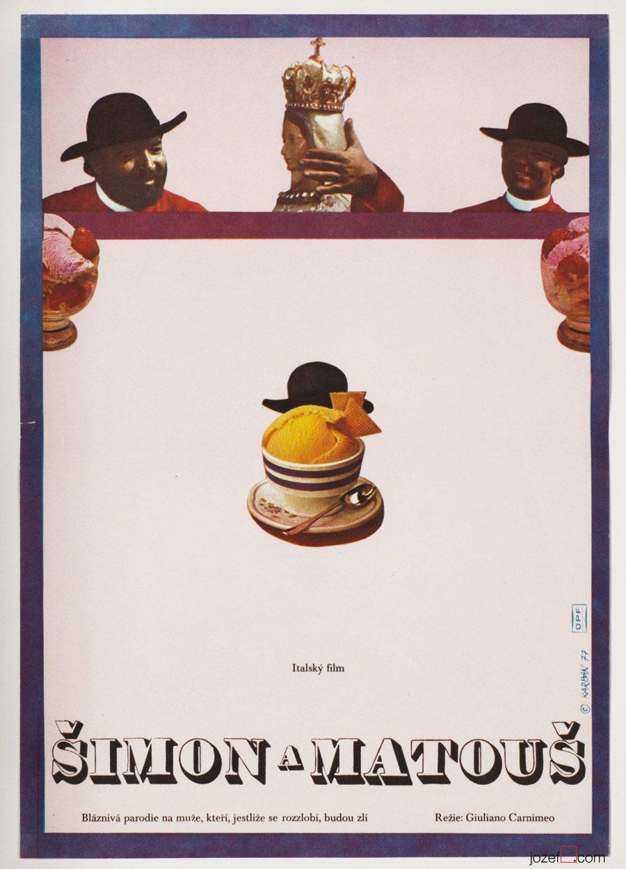 Vintage Poster, The Diamond Peddlers, 1970s Poster Art