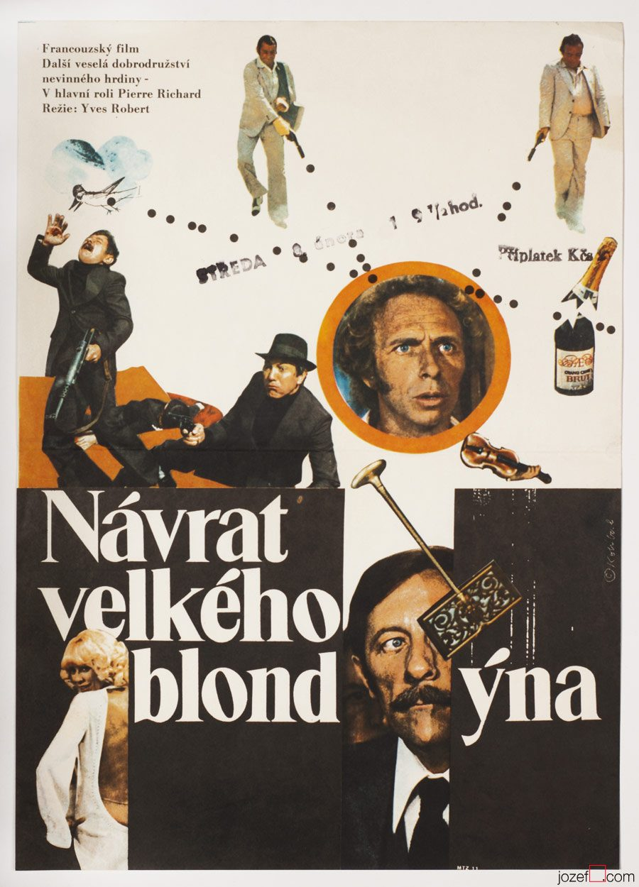 Return of the Tall Blond Man, Movie Poster