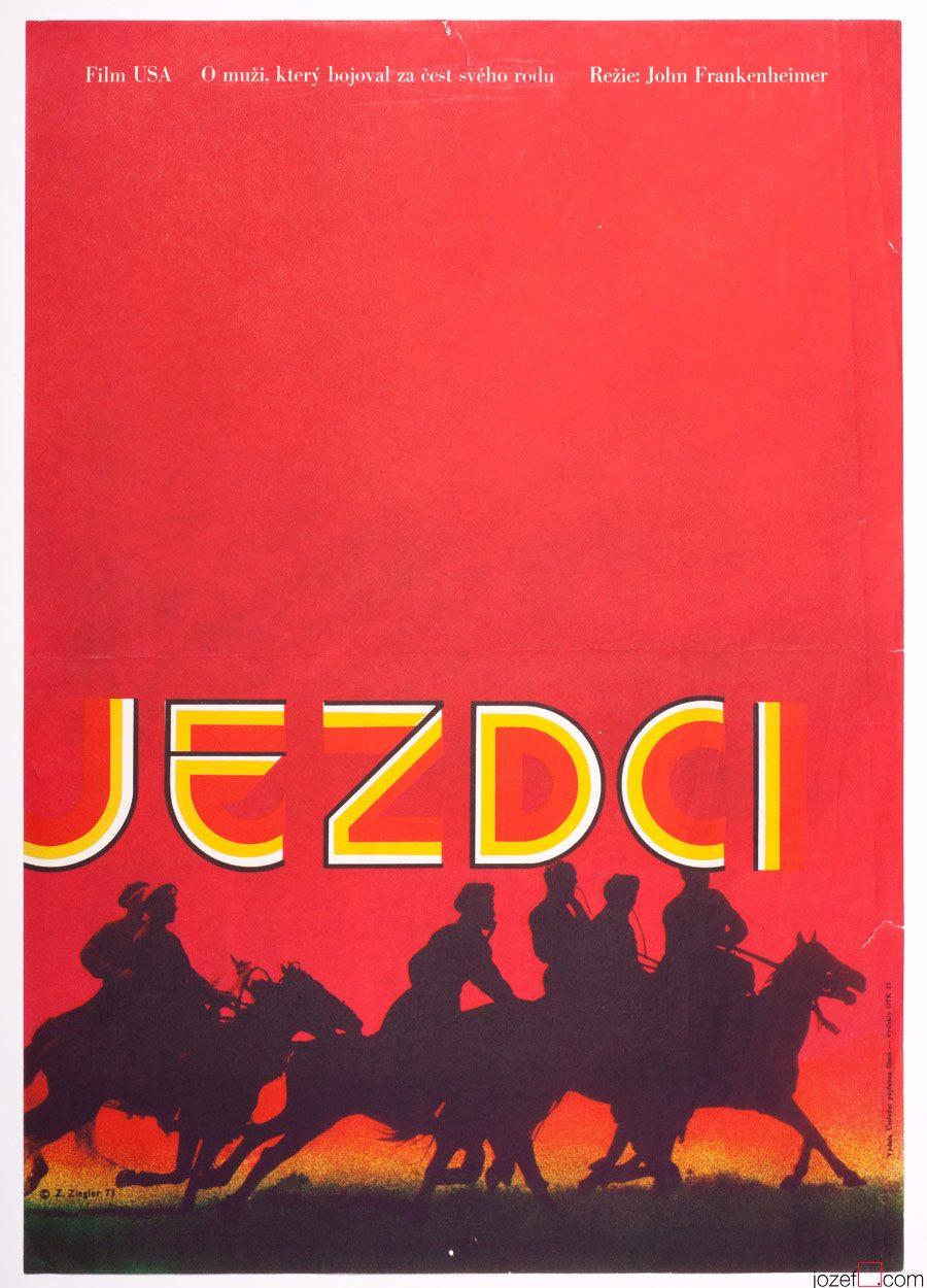 The Horsemen, 70s Movie Poster