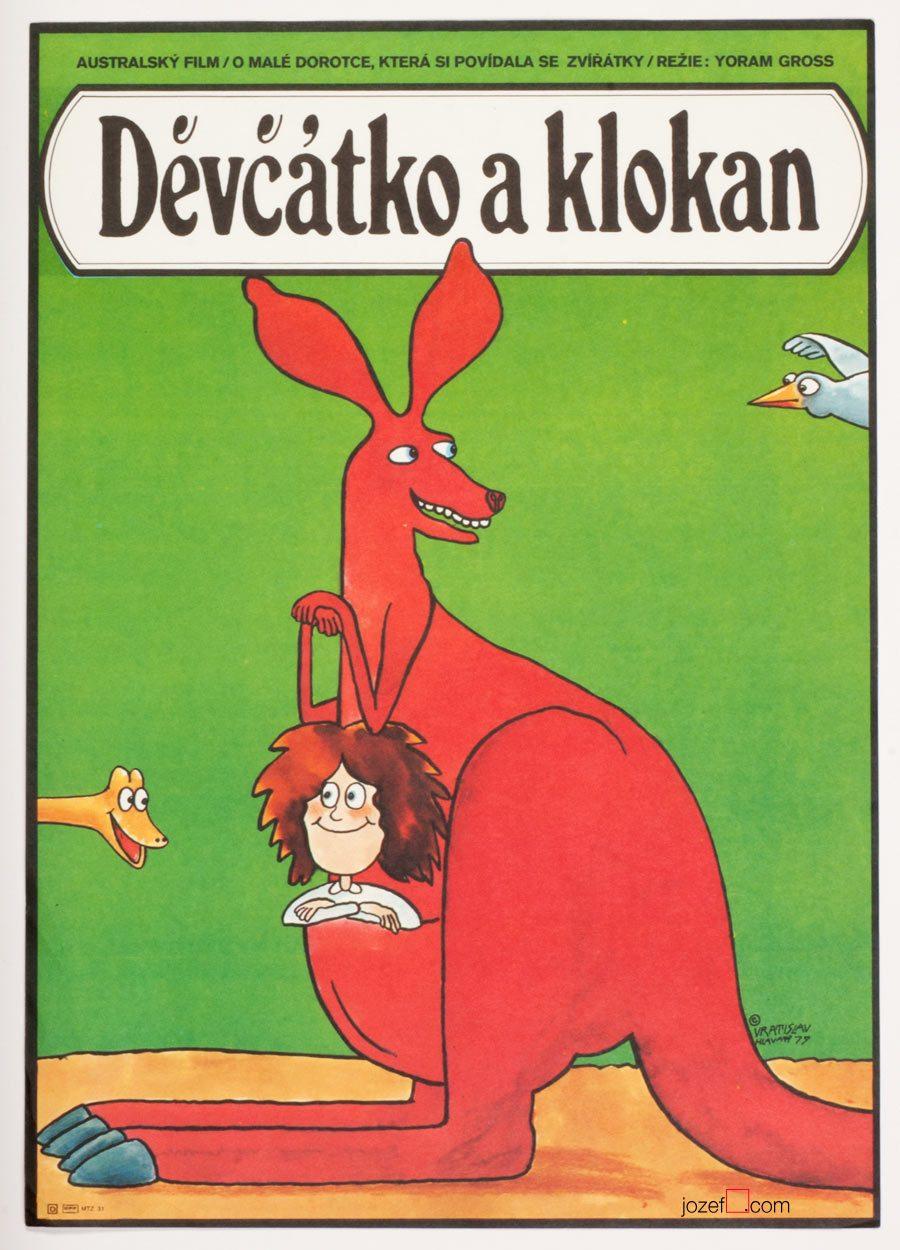 Dot and the Kangaroo Kids Movie Poster